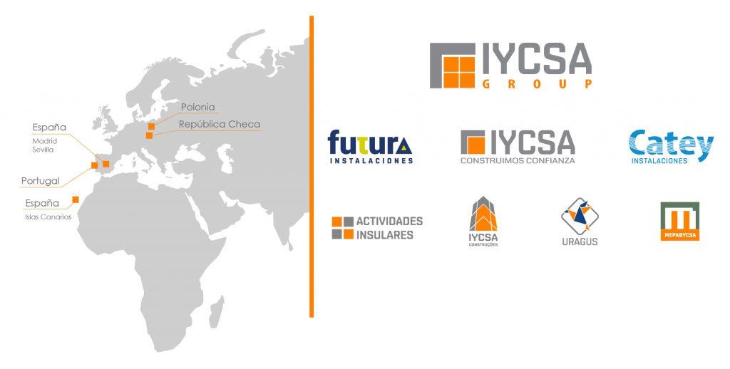 iycsa group mapa y empresas