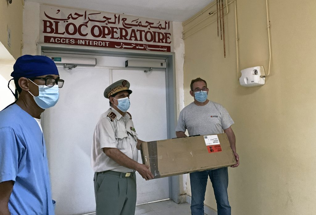 Mauritania hospital